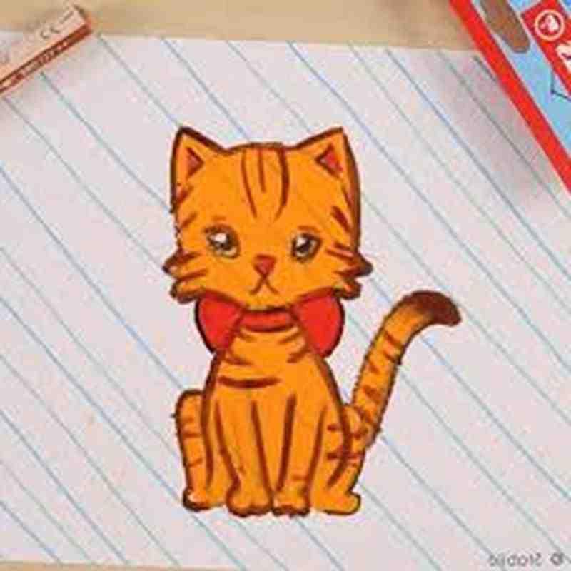 Comment dessiner un chat etape par etape ?