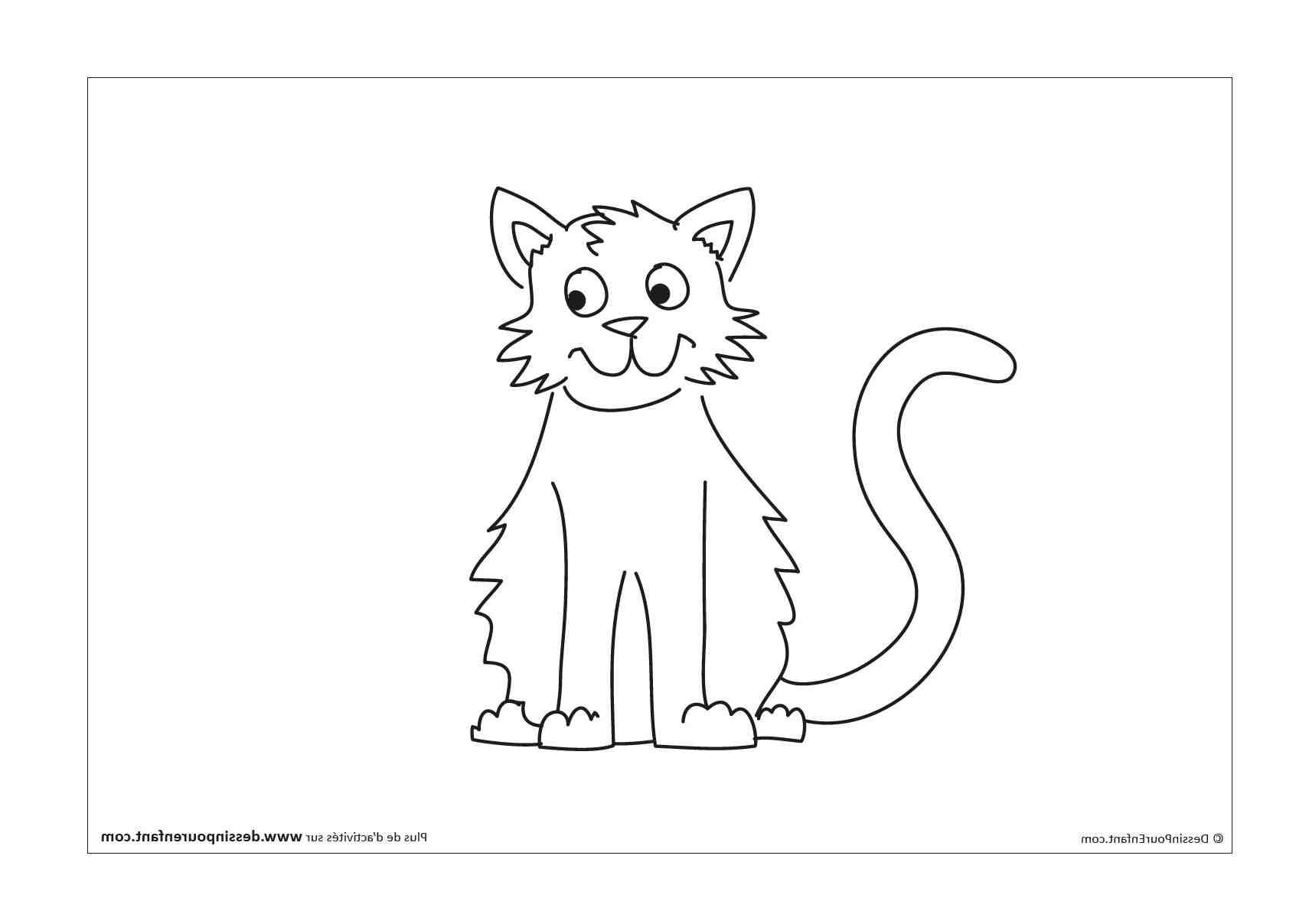Comment faire un dessin de chat facile ?
