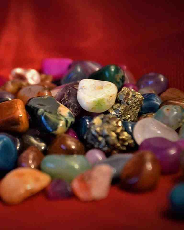 Quelles sont les différentes pierres ?